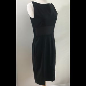 Moschino Cheap and Chic black dress sheer section